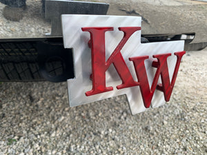 "KEY WEST CONCH ""KW"" HITCH COVER"