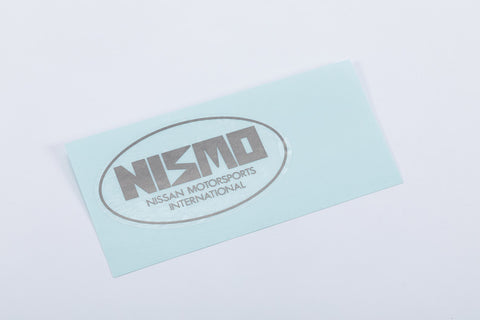 NISMO Heritage Old Logo Rear Trunk Sticker - BNR32 #660192135 - Trust Kikaku