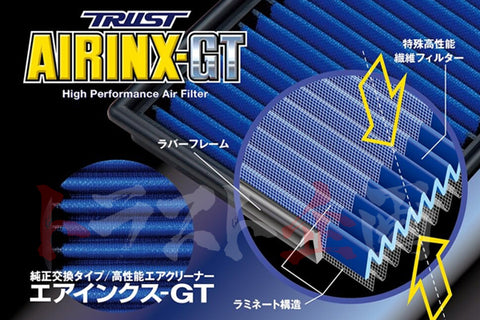 Greddy AIRINX-GT Air Filter MZ-8GT #618121510 - Trust Kikaku