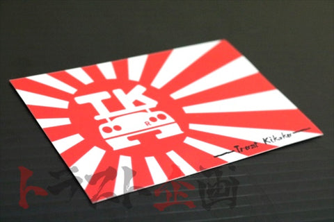 Trust Kikaku Original Rising Sun Flag Sticker White Logo #619191067