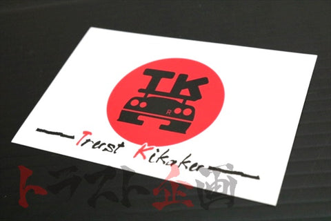 Trust Kikaku Rising Sun Flag Sticker Black Logo  #619191068