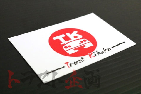 Trust Kikaku Rising Sun Flag Sticker White Logo  #619191069