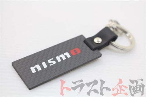 NISMO Dry Carbon Key Ring - Trust Kikaku