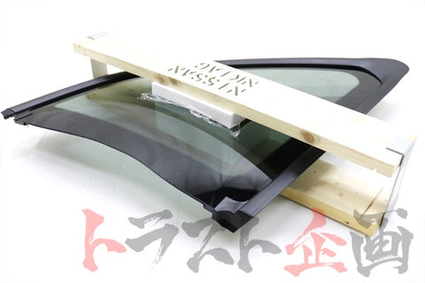 OEM Nissan Side Window Glass Assembly Privacy Film Type LHS - BNR34 #663101578