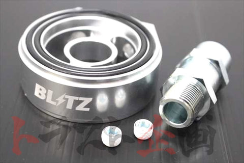 BLITZ Oil Sensor Attachment Block Type D 3/4-16 - S13 S14 S15 180SX FD3S CT9A JZX100 #765181018
