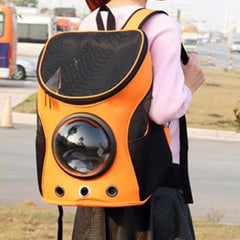 Cat&Dog Astronaut Capsule Backpack