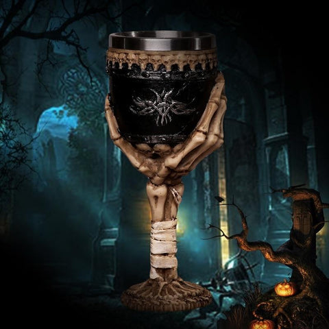 3D Gothic Skull Cup