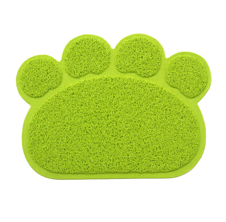 Claw-shaped cat litter mat
