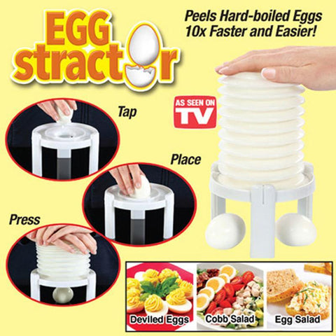 Egg Scissors - Magic Egg Peeler