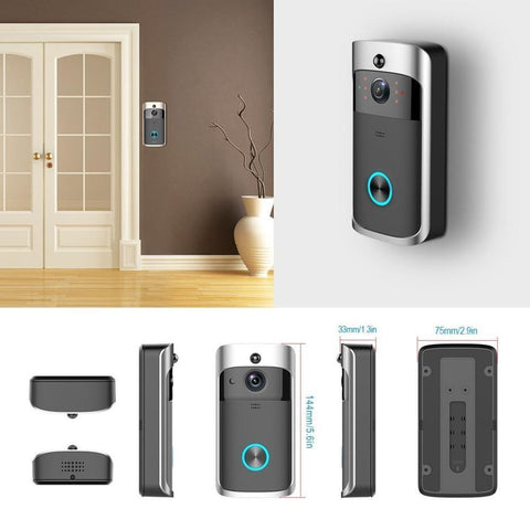 Intelligent Visual WIFI Doorbell With Night VIsion