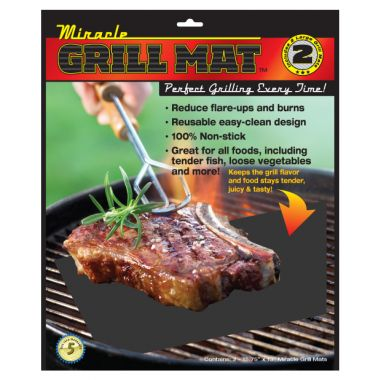 The Miracle Grill Mat
