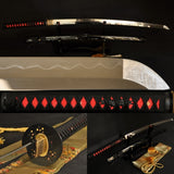 Authentic Real Handmade Japanese Samurai Sword Katana Clay Tempered Blade