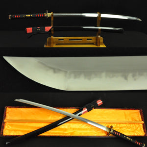 Authentic Hand Forged Clay Tempered Samurai Sword Japanese Katana Swords Full Tang - Handmade Swords Expert