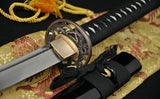 Handmade Japanese Samurai Functional Sword Katana Real Folded Steel Blade