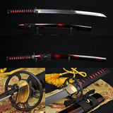 "31"" Authentic Japanese Samurai Practise Sword Wakizashil Full Tang Blade - Handmade Katanas Samurai Swords For sale"