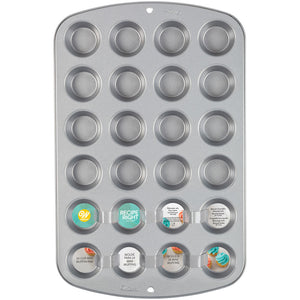 Recipe Right Mini Muffin Pan - 24 Cavity