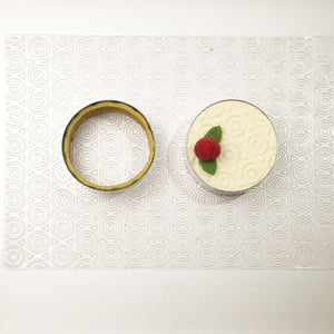 Round Cake Ring Stainless Steel 18X6 cm