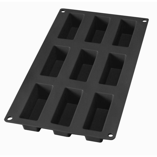 Professional Mini Rectangle Mould 9 Cavities