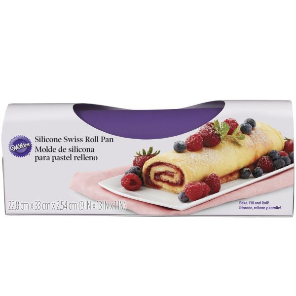Swiss Roll Silicone Mold - 9x13 inches