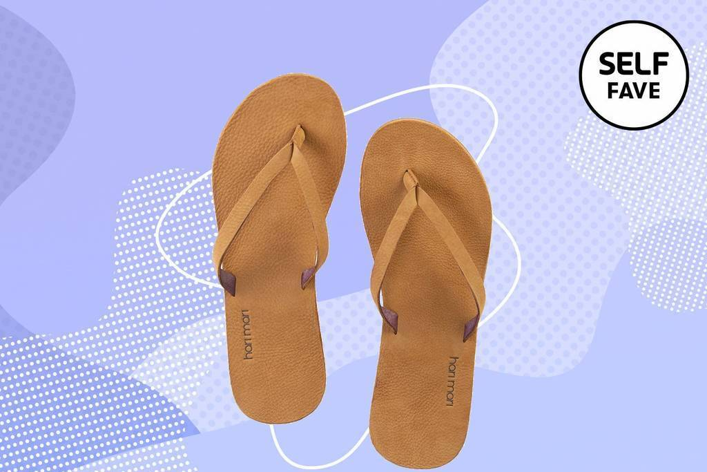 These Leather Flip-Flops Are the Comfiest Shoes of the Summer