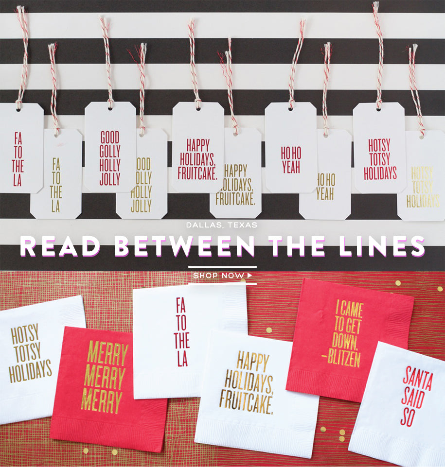 Read Between The Lines Paper Products