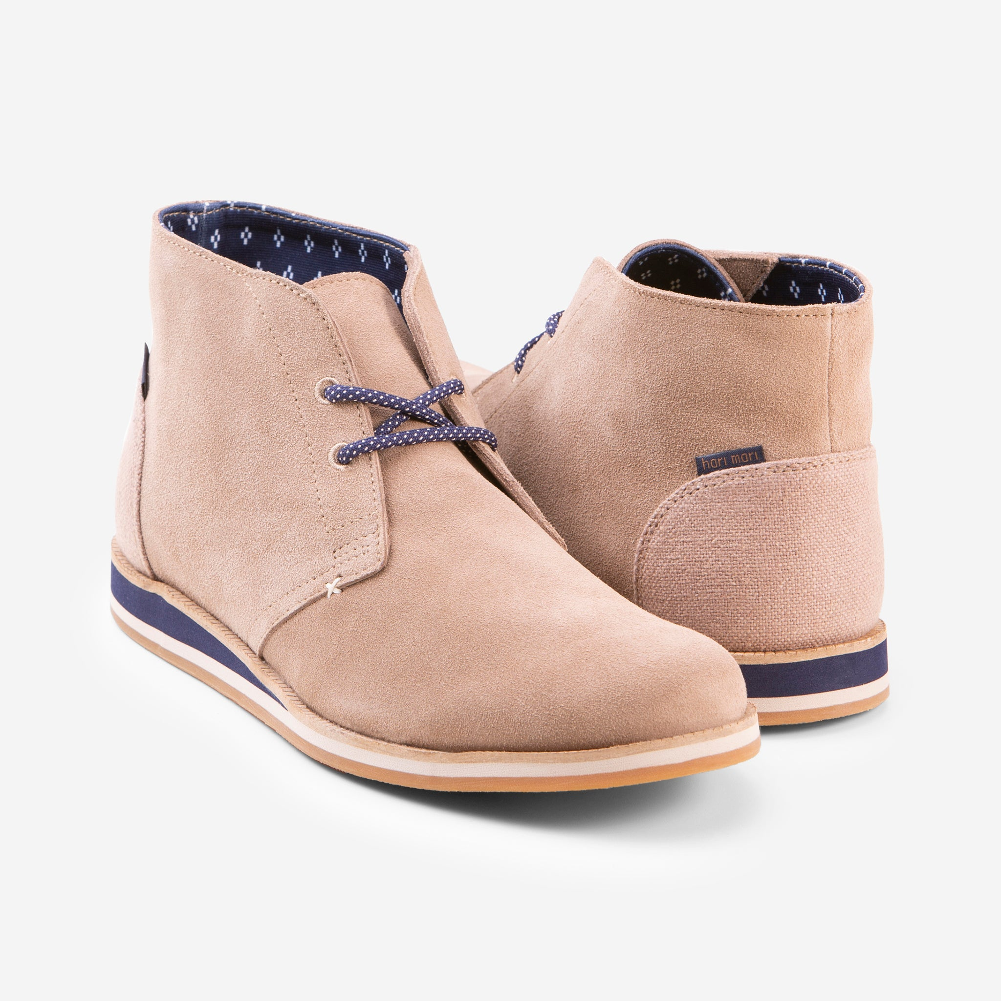 Adobe Desert Boot - Mens - Tan - 45 Degree View