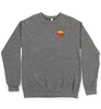 Sunset Crew-Neck | Unisex | Heather Gray