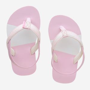 Hari Mari Kids Meadows Asana Glitter in Pink on white background