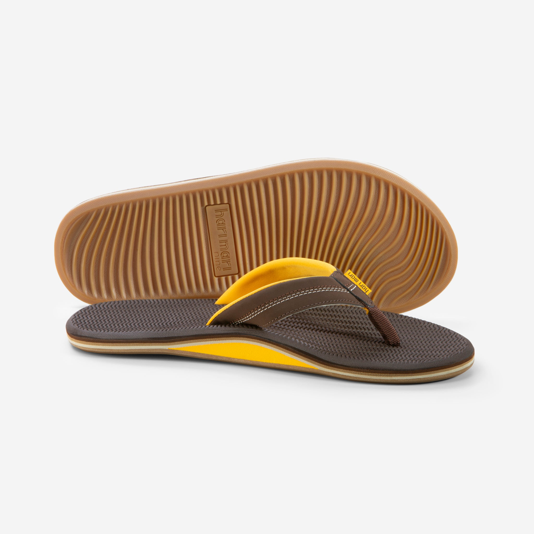 Brazos - Men's - Brown/Gold - Side/Bottom View