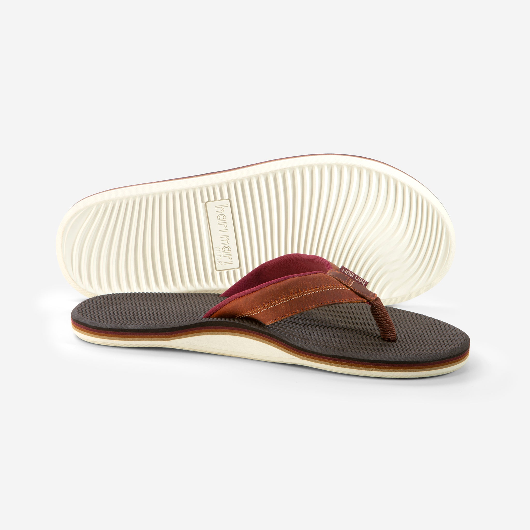 Brazos LX - Men's - Brown - Side/Bottom View