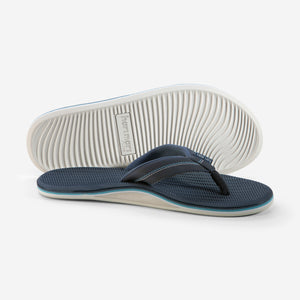 Brazos LX - Men's - Navy - Side/Bottom View