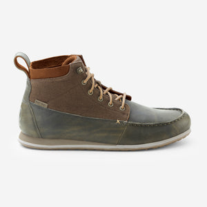 Nokona CanyonTrek Chukka-Mens-Moss-Side View