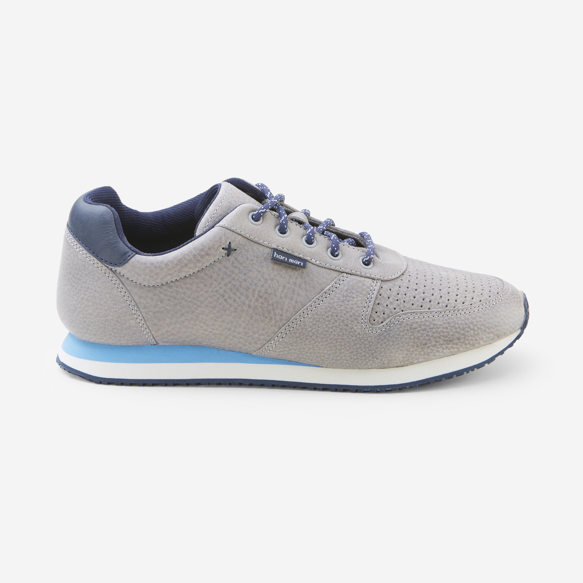 Dos Santos LX Retro Runner-Mens-Granite-Side View