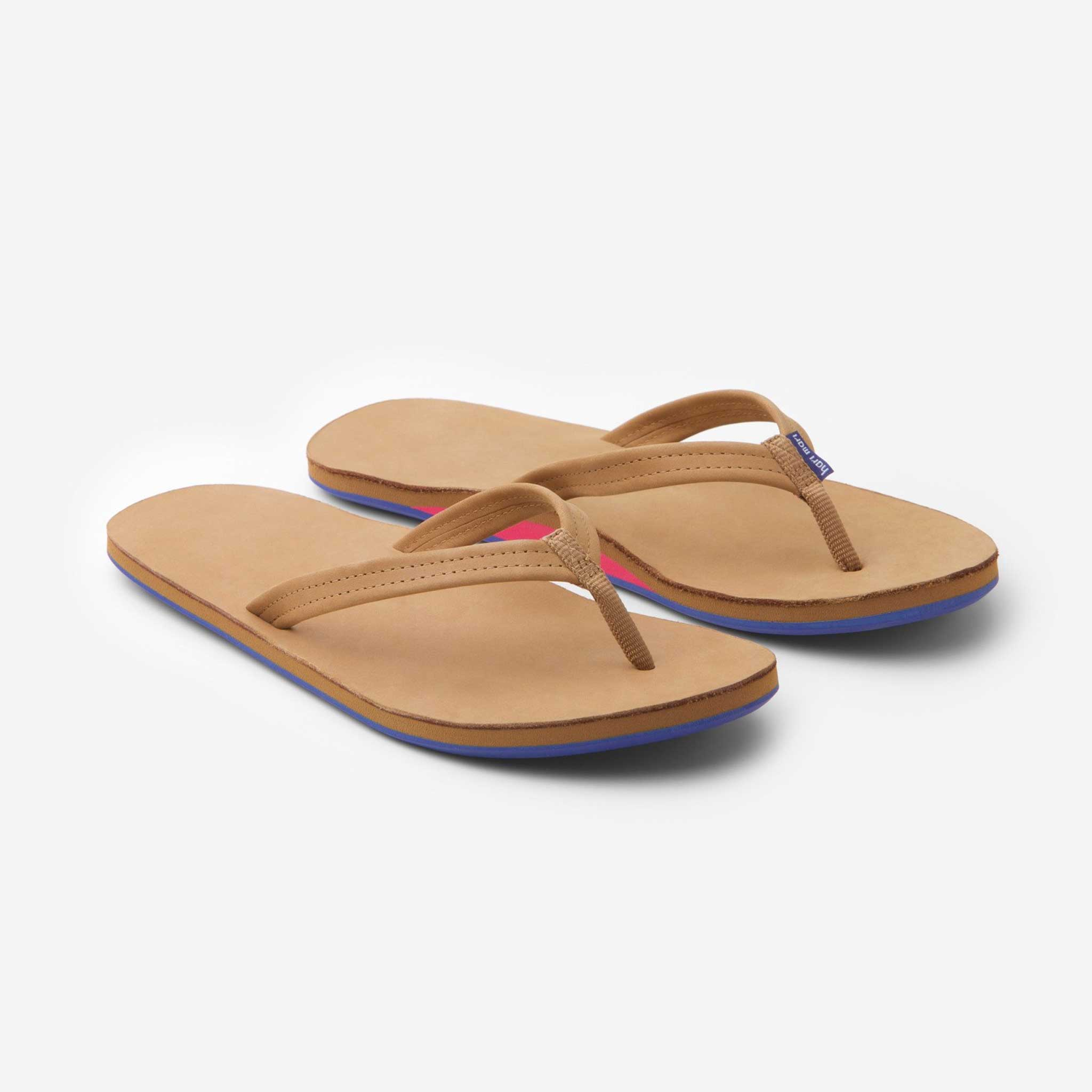 Fields - Women's - Tan / Blue - 45 Degree View