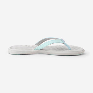 Beachsides - Women's - Aqua/Light Gray - Side View