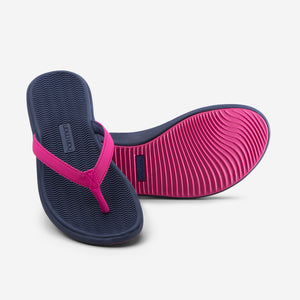 Beachsides - Women's - Berry/Navy - 45 Degree/Bottom View
