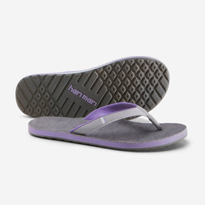 Parks II - Women's - Light Gray/Dark Gray - Side/Bottom View
