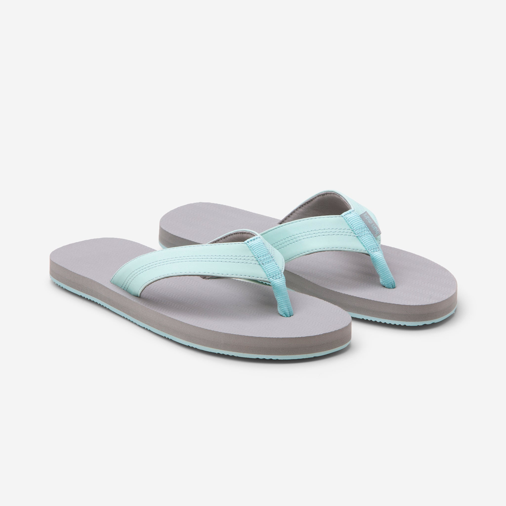 Hari Mari's Kids & Youth Brazos flip flops on white background