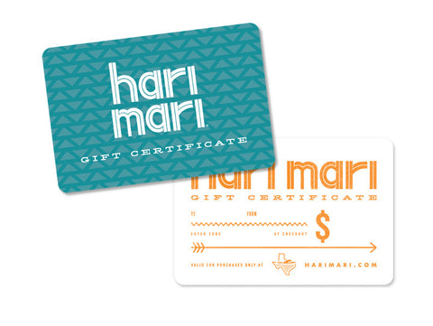 Gift Card | Holiday Gifting Made Easy | Choose Your Amount