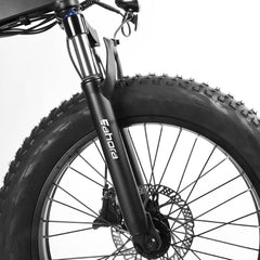 Eahroa X7 Front Fork And Wheel