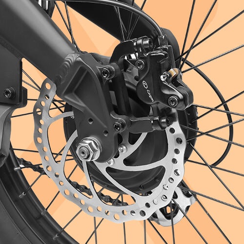 MAINTENANCE-FREE HYDRAULIC BRAKE