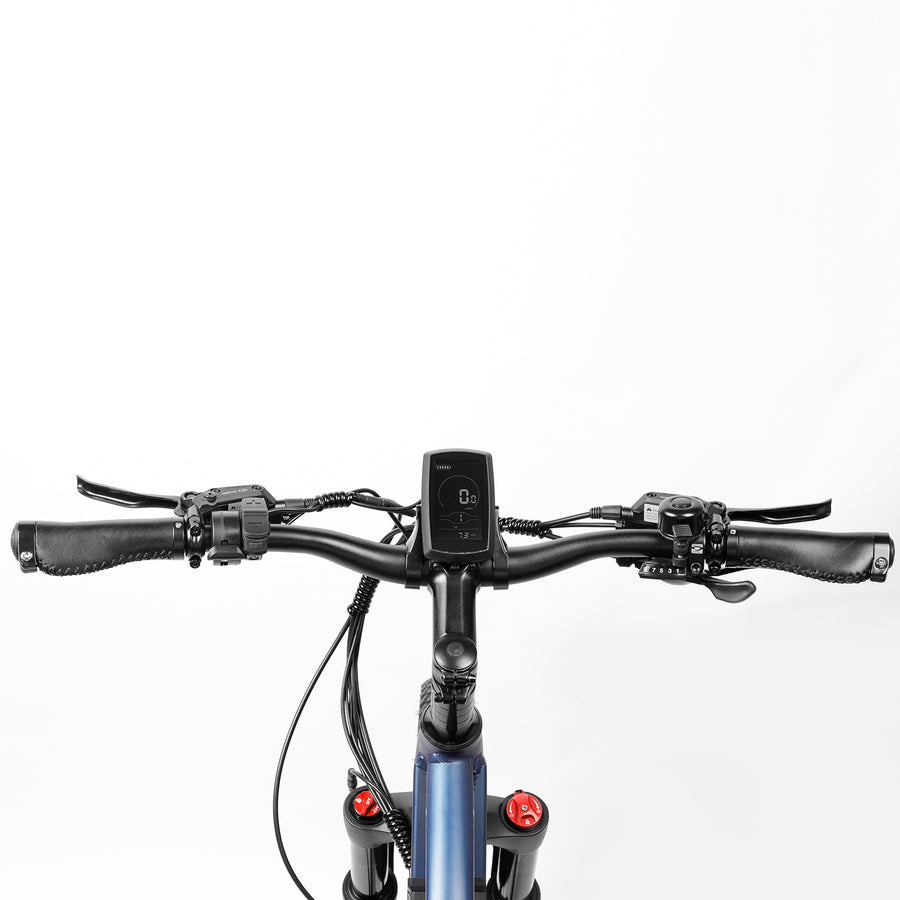 Eahora AM100 350W Moutain Electric Bike | Shimano 9 Speed & Thumb Throttle