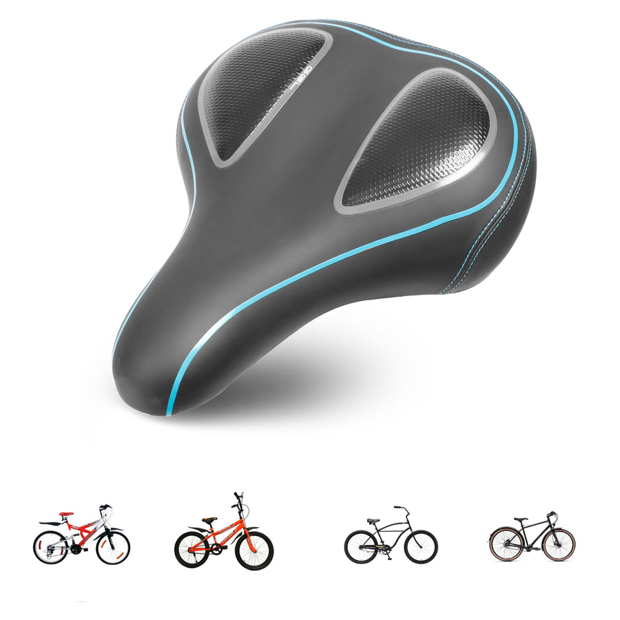 Eahora Cushioned Bike Seat Saddle | Comfortable and Prevent Slippery Design