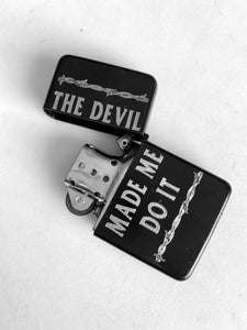The Devil Engraved Lighter