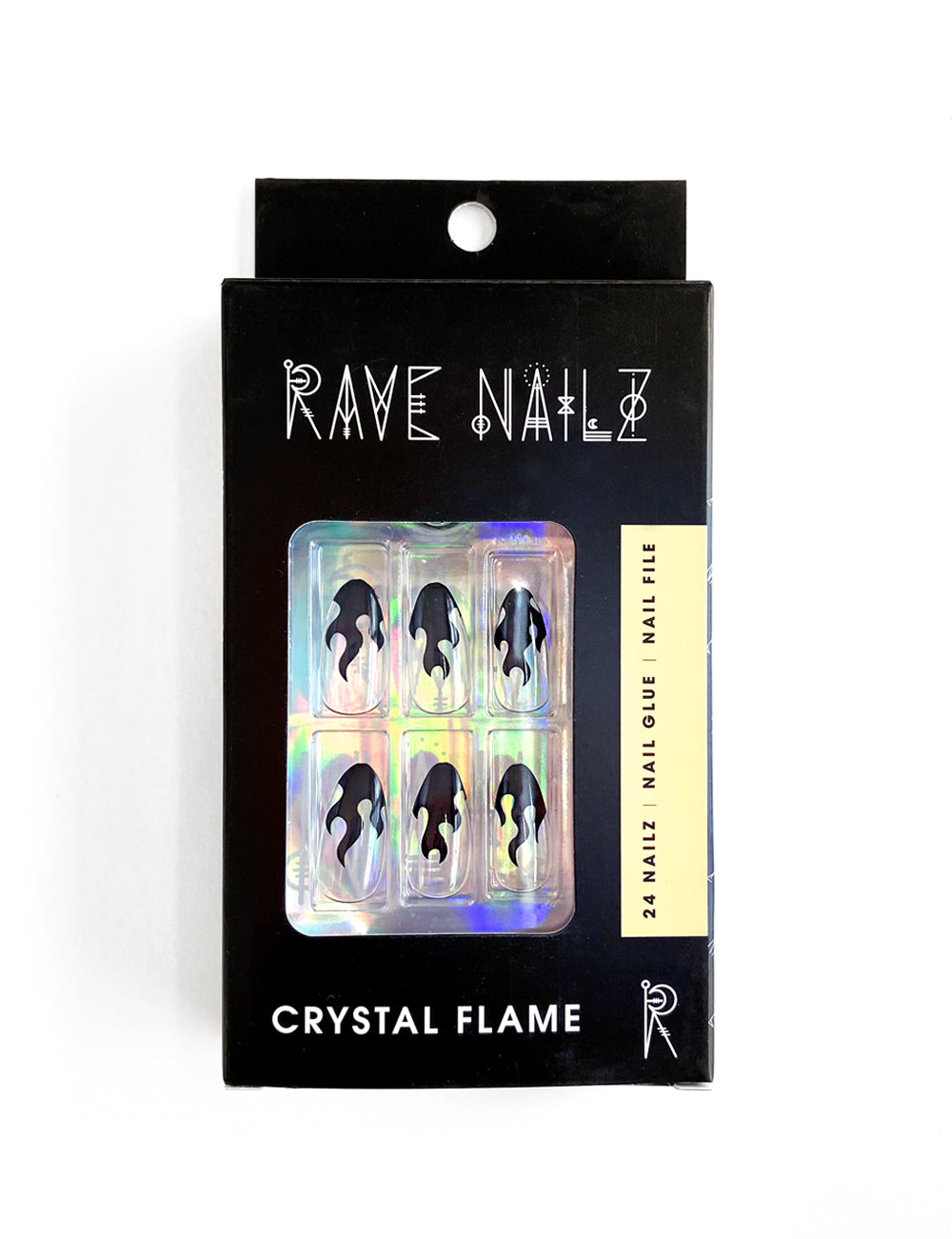 Crystal Flame Nailz