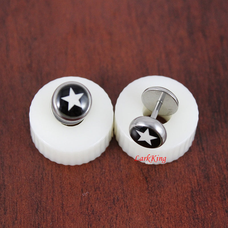 Stud earrings, star stud earrings, star studs, star earrings, statement earrings, screw stud earrings, unique gifts, gifts for her, ER392