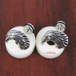 Eagle stud earrings; animal studs; animal earrings; unique studs; statement stud earrings; men stud earrings; earrings for men; SE3029