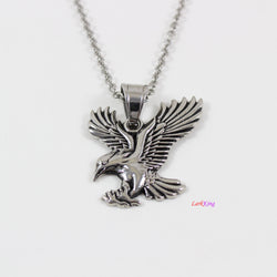 Eagle necklace, bird necklace, animal necklace, stainless steel, eagle necklace for men, eagle pendant, unique eagle, popular eagle, LK7123