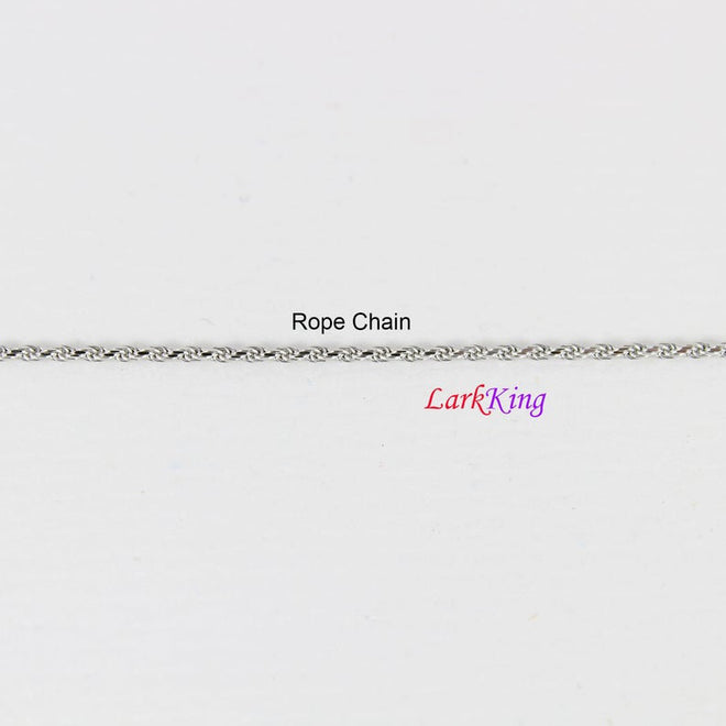 Sterling silver chain Stainless steel chain