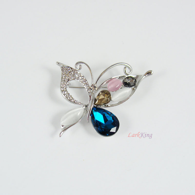Brooch, butterfly brooch, women gifts, girls gifts, unique gifts, bridesmaid gifts, engagement gift, gifts for girlfriend, LarkKing BH74